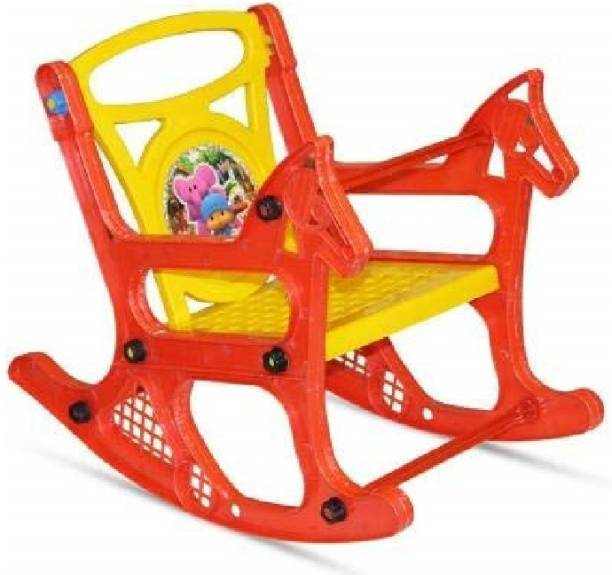 Maanit Kids Rocking Chair Plastic 1 Seater Rocking Chairs