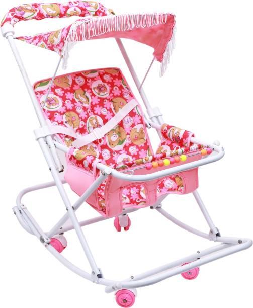 Maanit Baby Stroller cum Swing Stroller