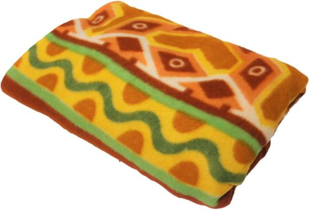 BIZIM Printed Single Fleece Blanket