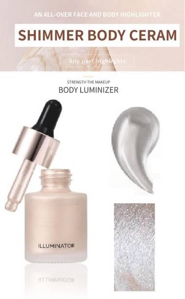 seyblush Professional Iconic Illuminator Liquid Highlighter (Shine)  Highlighter