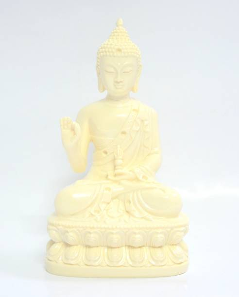 """ONRR Collections Gautam Buddha Blessing feng-shui 6""""inches statue for knowledge healthy vibes and good, luck purity Decorative Showpiece  -  15 cm"""