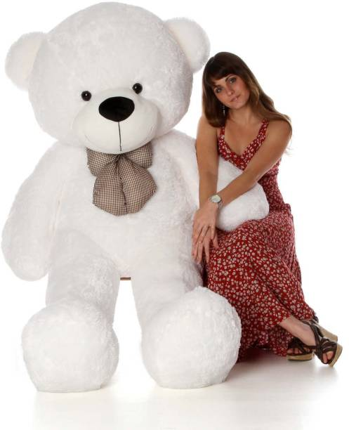 Jasper Cute Bootsy White 90 Cm 3 feet Huggable And Loveable For Someone Special  - 90 cm