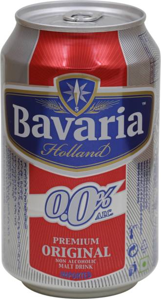 Bavaria Non-Alcoholic Beer 330ml, Pack of 6 cans Can