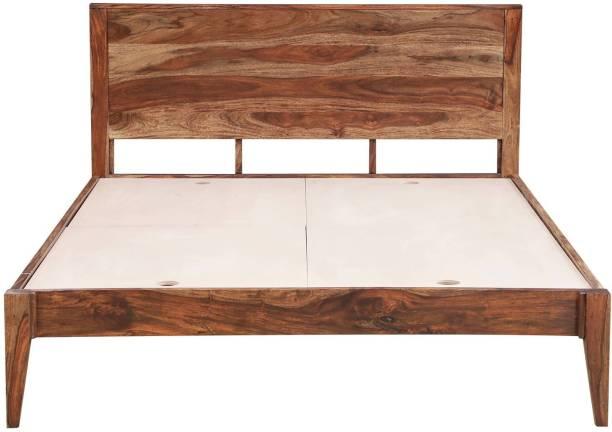 Versatile Solid Wood King Bed