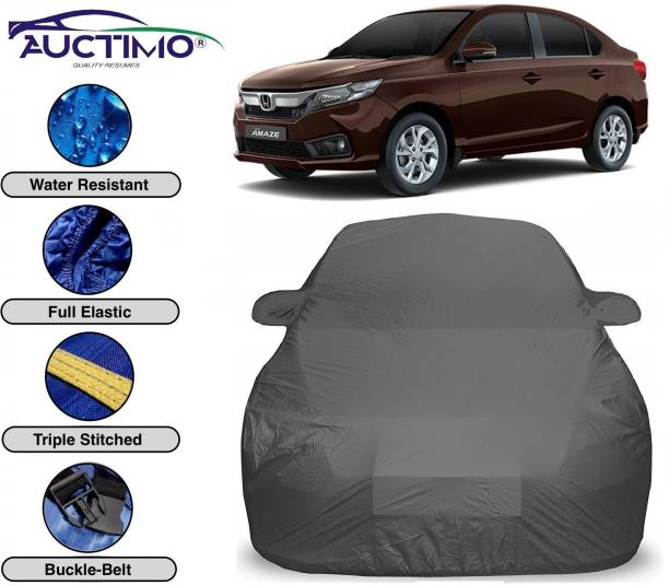 AUCTIMO Car Cover For Honda Amaze (With Mirror Pockets)