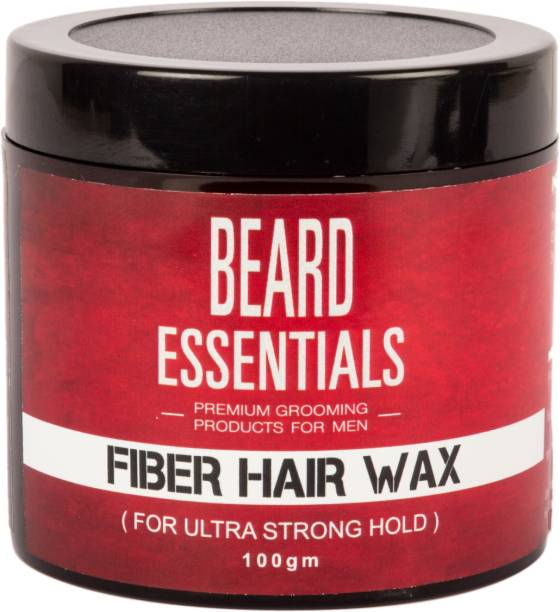 BEARD ESSENTIALS Strong Hair Styling Fiber Hair Wax For Shine and Strong Hold Hair Wax