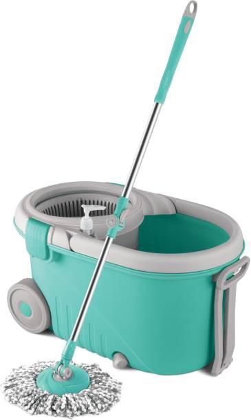 Spotzero by Milton ELEGANT PLASTIC WRINGER SPIN MOP Mop