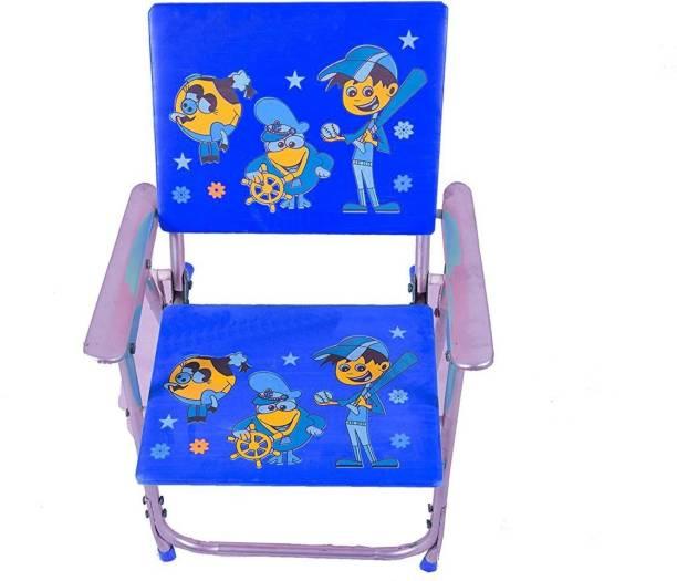 Deviant Buzz Deviant Buzz-Best For Your Children Love Kids Height Adjustable Study Table & Chair set (Blue) Metal Chair