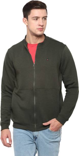 LOUIS PHILIPPE Full Sleeve Solid Men Sweatshirt