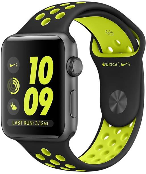 APPLE Watch Nike+ - 38 mm Space Gray Aluminium Case with Black / Volt Nike Sport Band