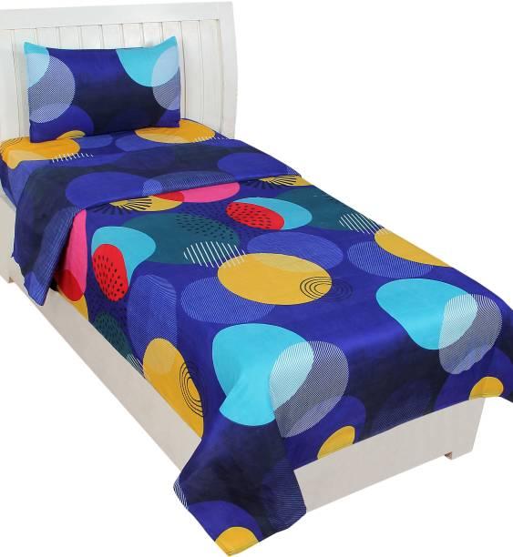 BSB Trendz 140 TC Polycotton Single Abstract Bedsheet