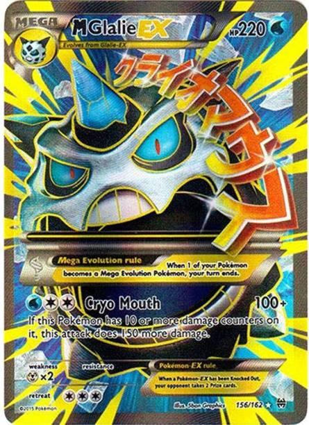 POKEMON Mega-Glalie-EX (156/162) - XY Breakthrough - Holo