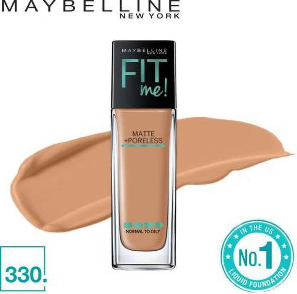 MAYBELLINE NEW YORK Fit Me Matte+Poreless Liquid  Foundation