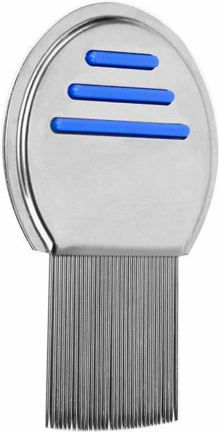 SHAFIRE Stainless Steel Lice Treatment Comb for Head Lice/Lice Egg Removal Comb