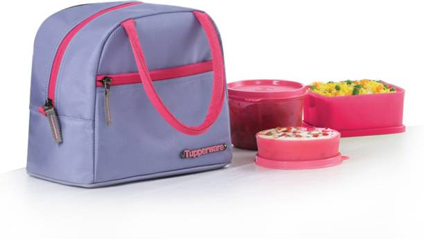 Tupperware Her Lunch Set 3 Containers Lunch Box