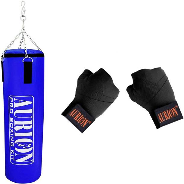 Aurion Unfilled Hard Punching Bag Hanging Bag