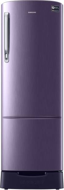 SAMSUNG 255 L Direct Cool Single Door 3 Star Refrigerator with Base Drawer