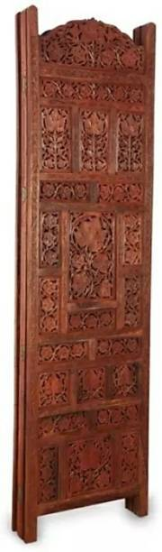 OnlineCraft Solid Wood Decorative Screen Partition