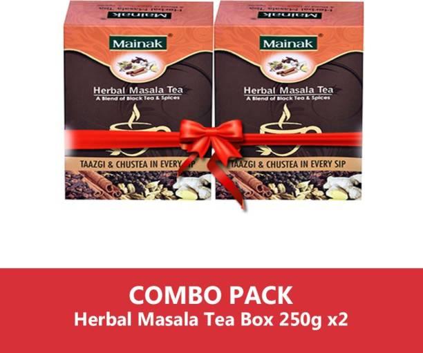 Mainak MHMCS_250_2 Ginger Masala Tea Box