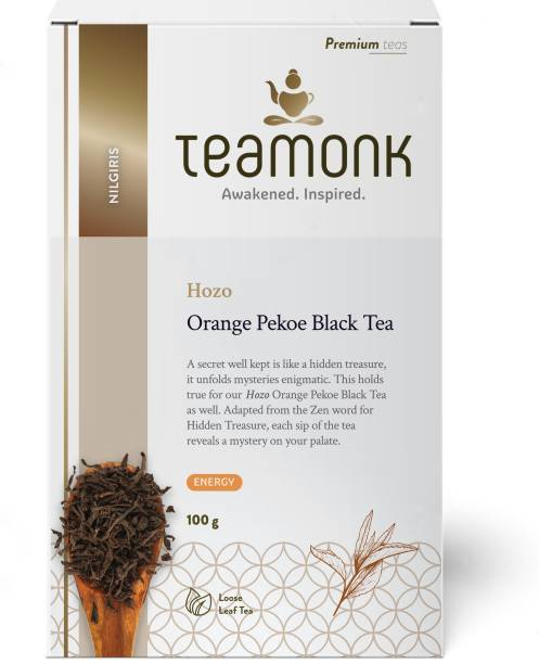 Teamonk Hozo Nilgiris Black Tea Box