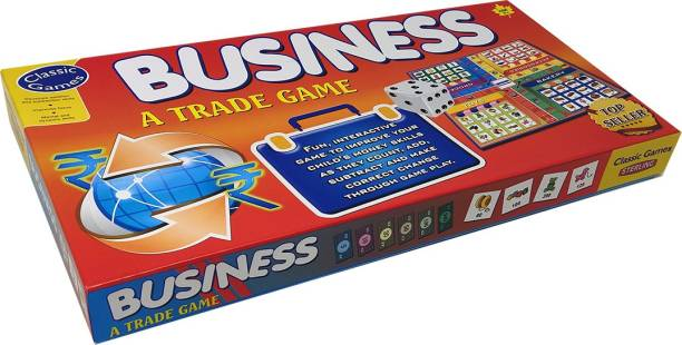 STERLING Business (Classic Board Game) - Sterling Money & Assets Games Board Game