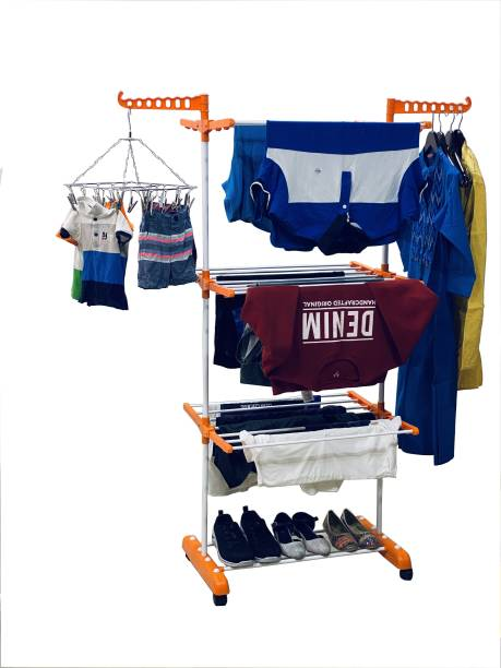 TNC Steel Floor Cloth Dryer Stand O1MS-0001