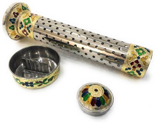 NAVRANG Incense stick Stand, Incense stick holder, Agarbatti stand Steel Incense Holder Set