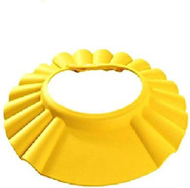 BRANDSHOPPY Adjustable Safe Soft Bathing Wash Hair Adjustable Size to Protect Face