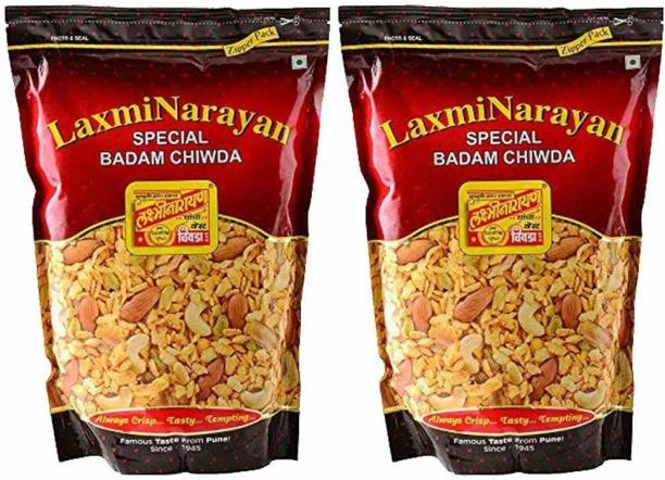 laxminarayan best chiwda Badaam Chiwda - Almond Chiwda - Best Chiwda