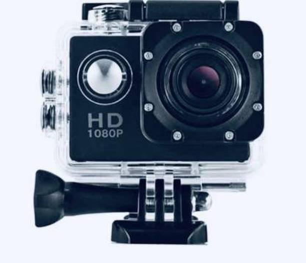 EFFULGENT 1080 P (Color on Availability) best Quality 1080P action camera 1080P 2-inch LCD 140 Degree Wide Angle Lens SAC_001 Sports and Action Camera