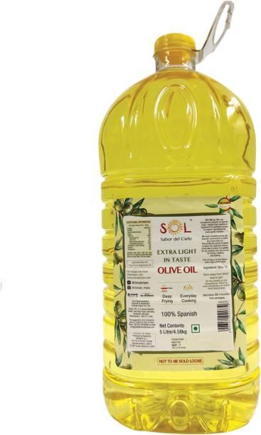 Sol 100% Spanish Extra Light Olive Oil Plastic Bottle