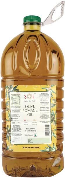 Sol Olive Pomace Oil Olive Oil Plastic Bottle