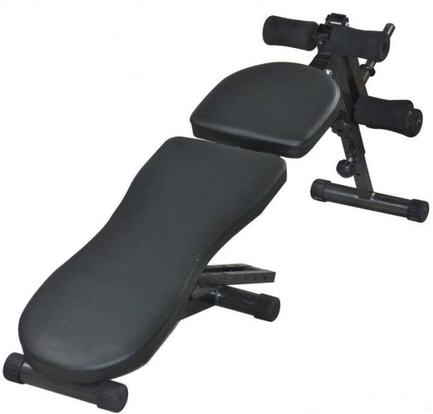 IRIS Fitness 6 in 1 Adjustable Full Body Workout Bench with 10 Incline Levels Multipurpose Fitness Bench