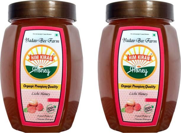 Himkiran 100% Organic Litchi Henoy Pack of 2 (500g each)