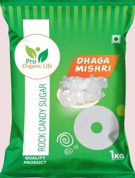 PRO ORGANIC LIFE Dhaga Mishri 1kg Sugar