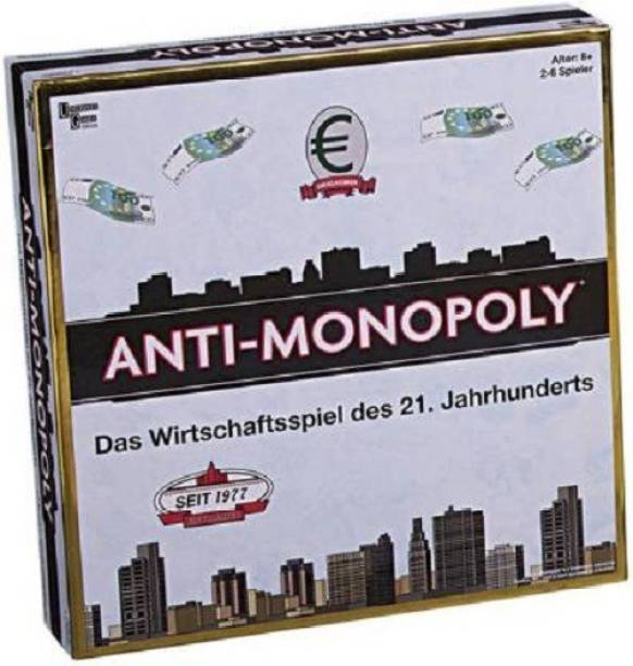 University Games Funskool Anti Monopoly- 2 To 6 Players Indoor Sports Games Board Game