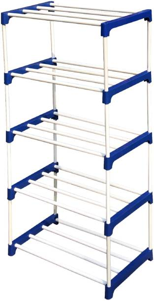 CMerchants BOOK SHELF-5RACK Metal Open Book Shelf