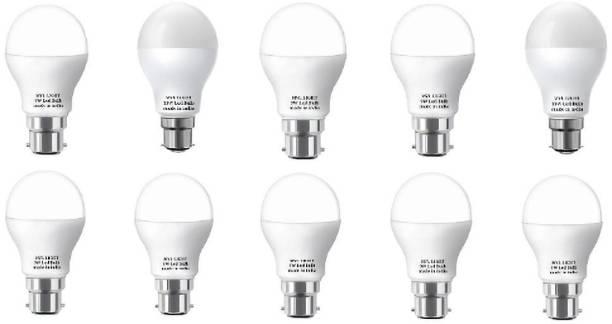 M.V.L 9 W Round B22 LED Bulb