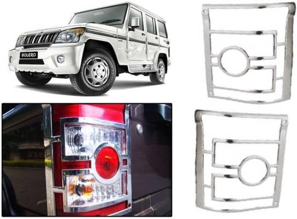 Elite MAHBOL106756 CAR CHROME TAIL LIGHT COVER Chrome Mahindra Bolero Rear Garnish