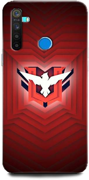 BARMANS Back Cover for Realme 5 Pro / Free Fire, Free Fire logo, Free fire game