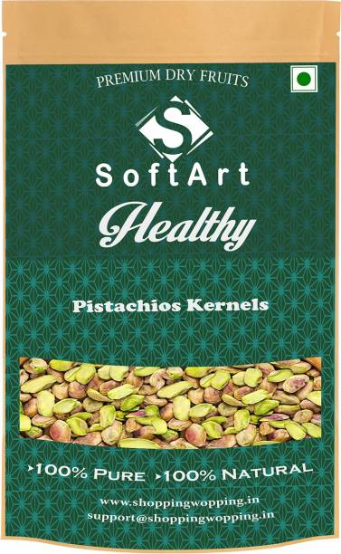 Soft Art Carlifonian Roasted Pistachios Without Shell (pista) vaccum pack Pistachios