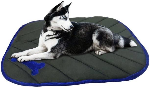 Dogerman Reversible Velvet XX-Large Car Sofa Floor Dog Cat Pet Cushion Pad for Pet XXL Pet Bed