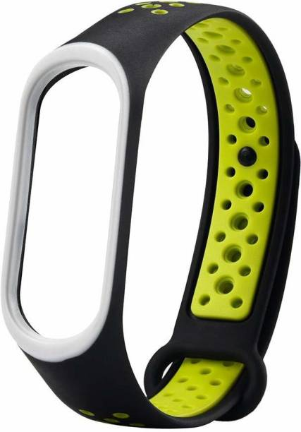 TECHWIND BAND 3, BAND 4 STRAPS (WATCH NOT INCLUDED) RED DOT BLACK Smart Watch Strap