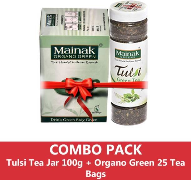 Mainak MTTJOGTB_100_25 Tulsi Green Tea Plastic Bottle