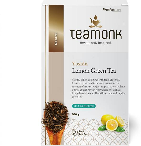 Teamonk Yoshin Lemon Green Tea Box