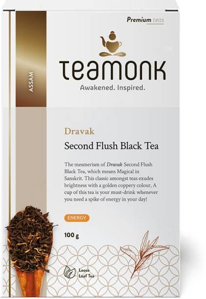 Teamonk Dravak Unflavoured Black Tea Box