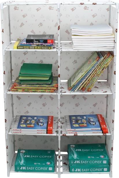 MemeHO Plastic Open Book Shelf