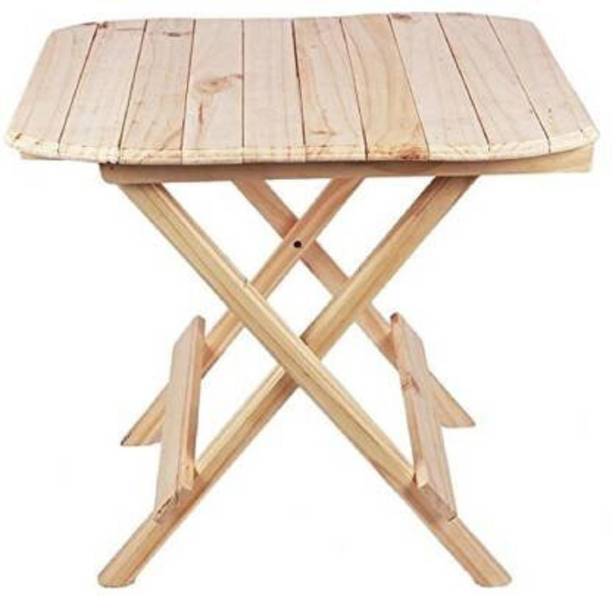 EMERET Multipurpose Wooden Folding Side Table   Coffee Table   Centre Table  Study table Solid Wood Coffee Table