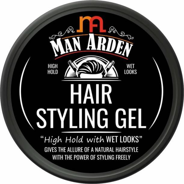 Man Arden Hair Styling Gel - High Hold with Wet Looks Hair Gel