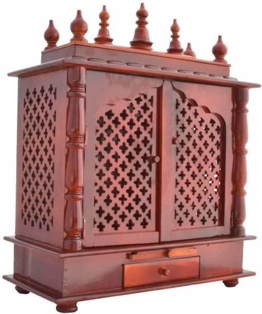 Cottage Crafts Mandir Solid Wood Home Temple